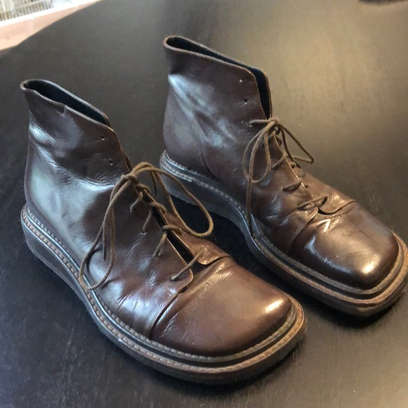 Simple Shoes - Genuine leather women's boots